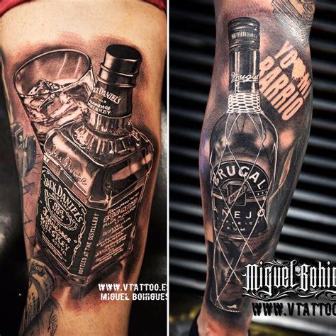 jack daniels vs ron brugal tatuajes en valencia v tattoo
