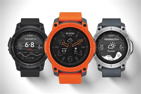 nixon mission android wear hiconsumption - Android Watches For