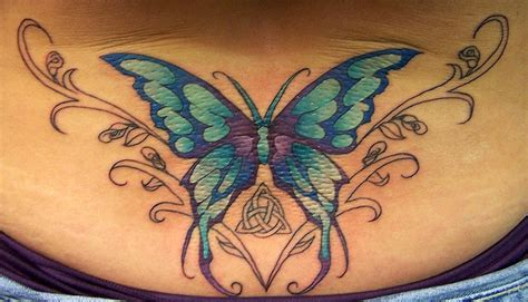 hartford county tattoo color butterfly with celitic knot by alana lawton tattoonow