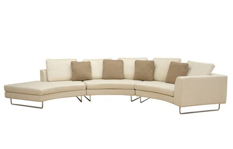 round sectional sofa canada curved sectional sofa canada conceptstructuresllc com