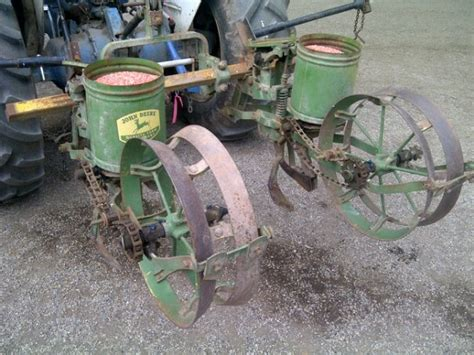 Deere Planter History by 1000 Images About Antique Farm Implements On