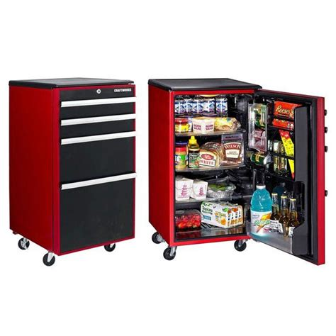 Refrigerator Freezers For The Garage by Toolbox Garage Refrigerator House Iz Betta Than Yourz