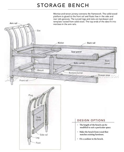 storage bench plans free storage bench plans woodworking with innovative style