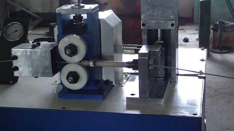 Cutting Feeder 7 8 By Biselnetz wire cutting machine for multi strand wire
