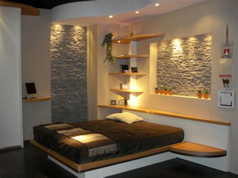 stone wall in bedroom beautiful bedroom with decorative stone elements milan