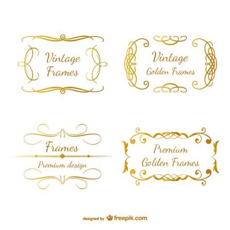 cornici d oro classiche cornici in oro retr 242 ricciolo di design