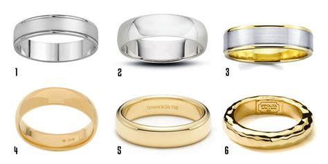 Men's Wedding Bands Buying Guide