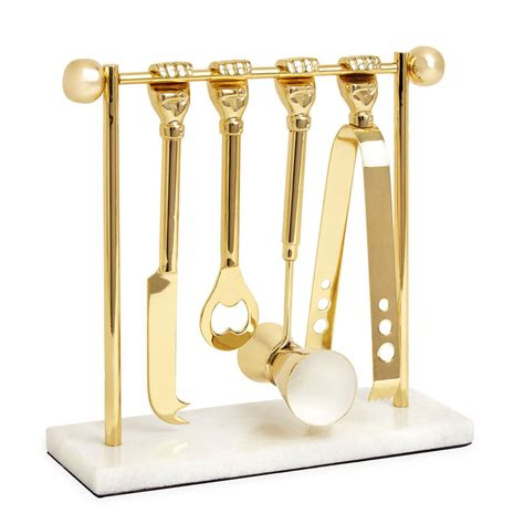 barware set barbell barware set modern dining jonathan adler