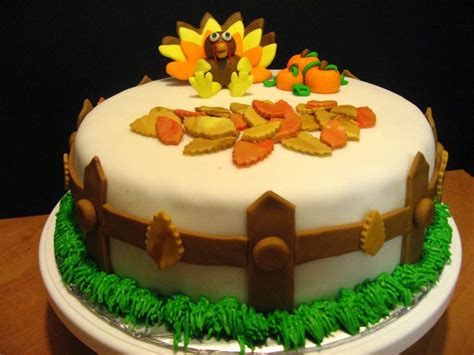 Thanksgiving Cake Decorating Ideas by Thanksgiving Cakes Decoration Ideas Birthday Cakes
