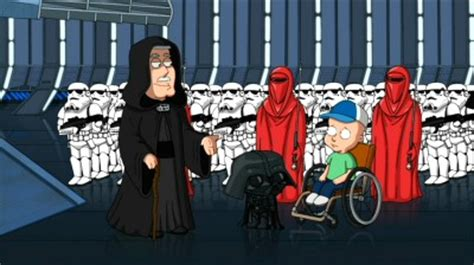 family guy star wars couch family guy it s a trap dvd talk review of the dvd video