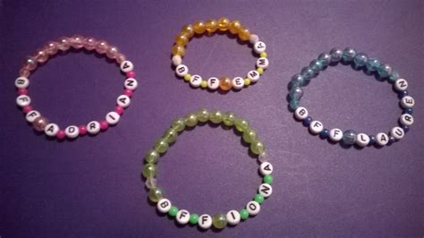 How To Make Bracelets Out Of Paper - b f f bracelet 183 how to make a beaded bracelet 183 jewelry