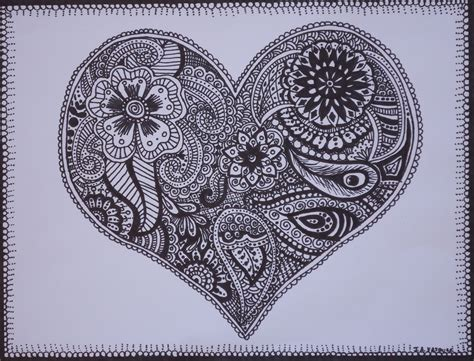 Drawing Designs by Vazquez Style Mehndi Henna Style Ink Drawings