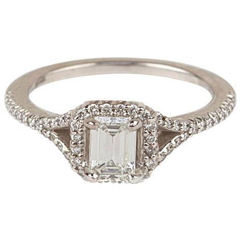 modern 59 carat cert emerald cut gold