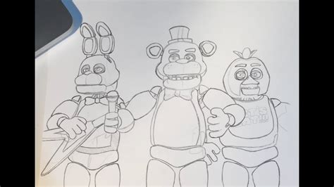 Fnaf 1 Sketches by 6 Fnaf Drawing For Free On Ayoqq Org