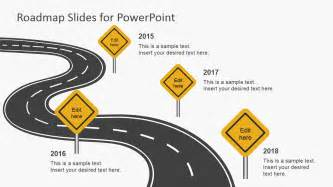roadmap template powerpoint free free roadmap slides for powerpoint slidemodel