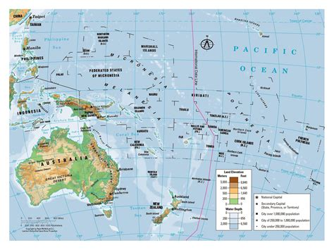 map of oceania countries australia and oceania countries map pictures to pin on