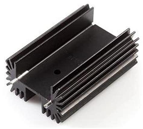 aluminium heat sink calculator sizing a heat sink for a heavy load sparkfun electronics