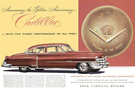 cadillac television ads personalities 1952 cadillac ad 01