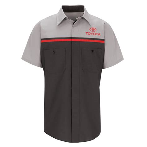 Watchout Casual T Shirt Merah toyota work shirts