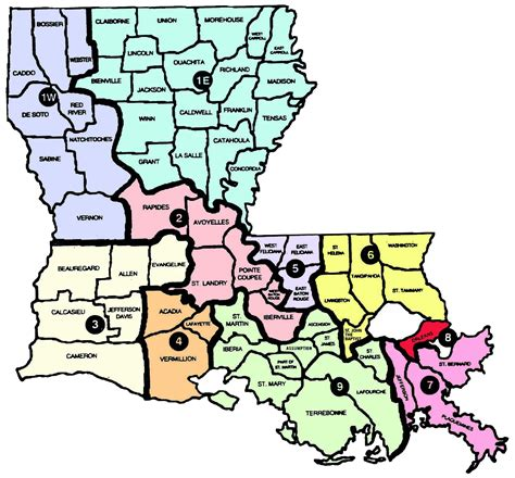 louisiana map with parishes the boho freedom express unknown yankee territory