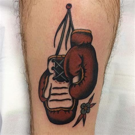 8 Fight Worthy Boxing Gloves Tattoos Tattoodo Boxing Gloves Tattoos Pictures