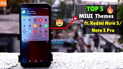 miui themes stopped working top 5 miui themes you must try ft redmi note 5 redmi
