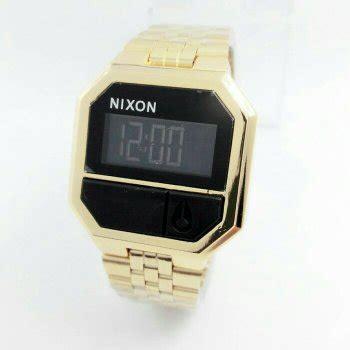 Jam Tangan Nixon Gold jual nixon rerun rantai gold kuning emas jam tangan wanita digital di lapak jtm store jtmstore