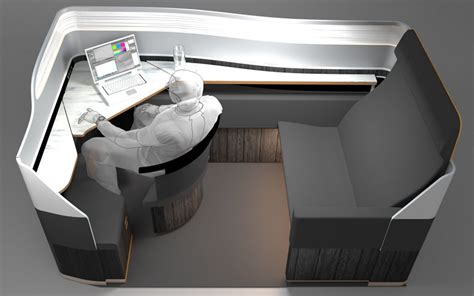 nonexistant layout class in flight corner office design travel leisure
