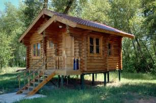 The Benefits Of Building A the little known benefits of building a log home on piles