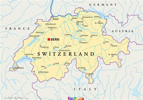 physical map of switzerland switzerland map blank political switzerland map with cities