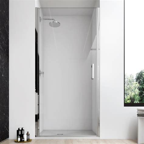 porta cristallo doccia porta doccia battente 80 cm per nicchia cristallo