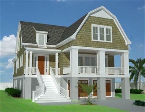 shingle style gambrel house plans gambrel roofed shingle style house plan 15039nc