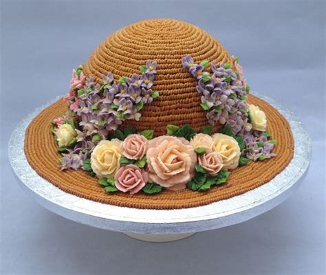 Floral Straw Hat floral straw hat cake cakes gallery