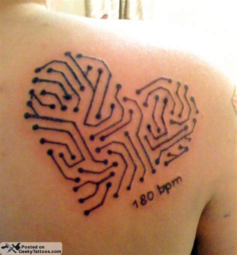 technology tattoos 29 best images about electronic circuit on