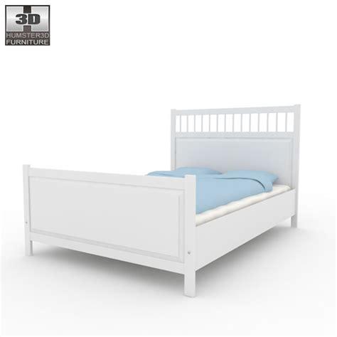 Ikea Hemnes Bed 2 3d Model Humster3d | ikea hemnes bed 2 3d model humster3d