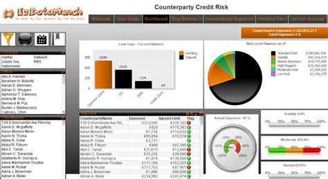 Customer Credit Analysis Template Risk Analytics Dashboards Kansas Ezdatamunch