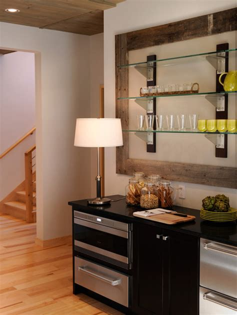 Small Bar Area In Kitchen Basement Inspiration The Lil House That Could