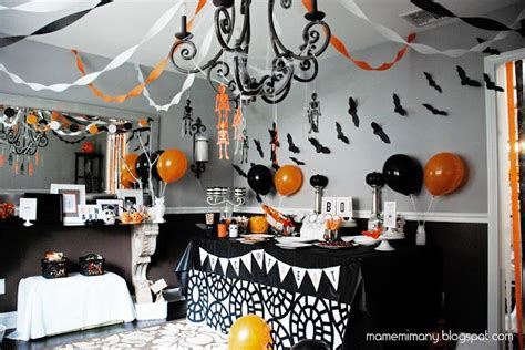 Simple Ideas For Halloween Party