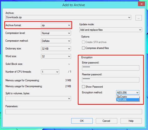 cara membuat file zip di windows 10 cara mengunci file zip atau 7z archive di semua os komputer