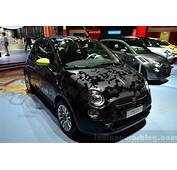 Fiat 500 Camouflage Edition At The 2014 Paris Motor Show