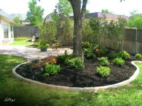 whinter popular landscaping ideas around trees pictures