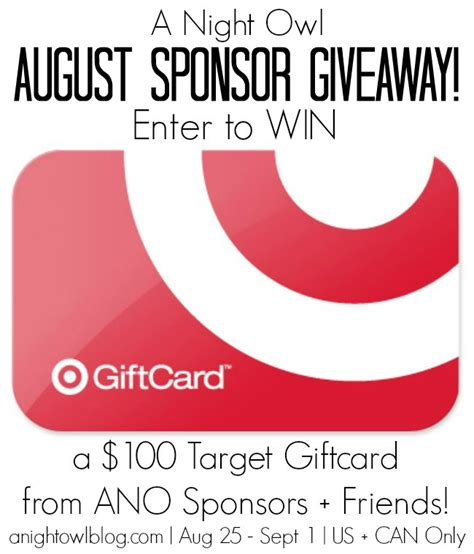 Target Usa Gift Card - 100 target gift card giveaway happy hour projects