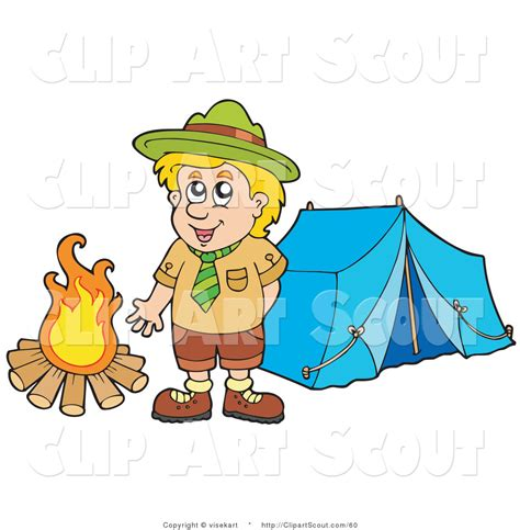 clipart scout royalty free boy stock scout designs