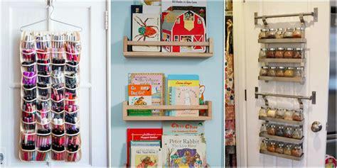 Closet Door Storage Ideas by Closet Door Storage Ideas New Uses For Closet Doors