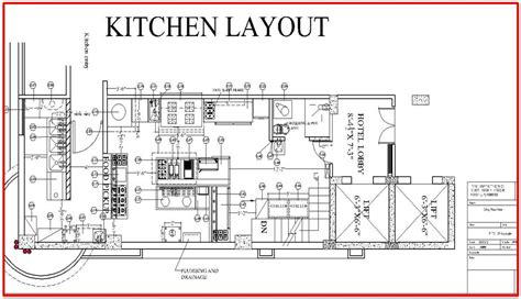 restaurant kitchen layout plan sawdegh