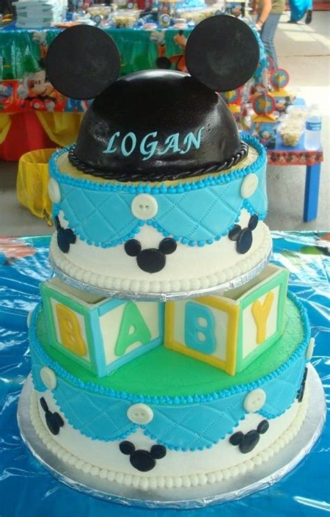 Mickey Mouse Baby Shower Themes by Mickey Mouse Baby Shower Theme Cake Designs
