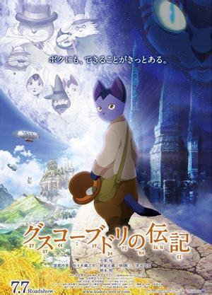 anime film with cats review gusko budori no denki the life of guskou