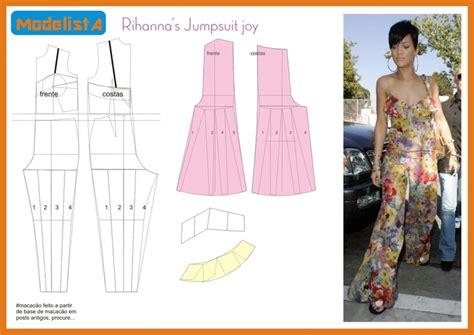 pinterest jumpsuit pattern rihanna s jumpsuit patterns instructions evening gowns
