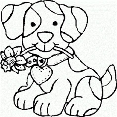 coloring pages free coloring pages of girl puppy