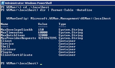 Powershell Format Table by Powershell 2 0 One Cmdlet At A Time 45 Connect Wsman